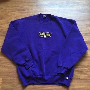 Vintage purple Elmira college sweatshirt